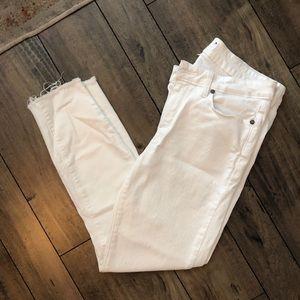 Vertigo crop ripped jean